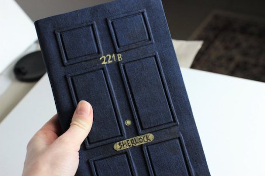 This journal features the door number of Sherlock Holmes. While I tend to stay away from movie or book related notebooks, this notebook is surely alluring, clever, and mysterious.