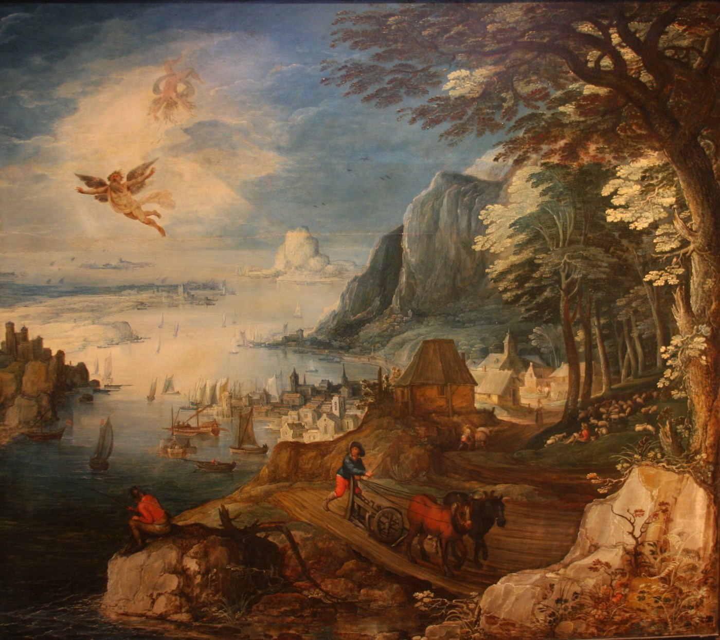 Joos de Momper's 'The Fall of Icarus'